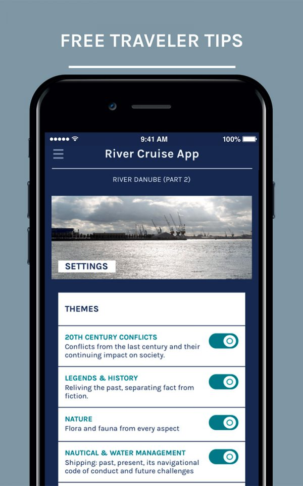 River Cruise App - OCG Studios